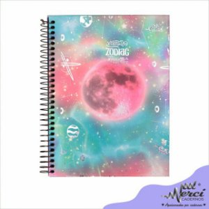 Caderno Espiral Zodiac  Colegial - Merci