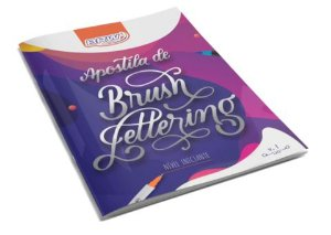 Apostila Lettering Brush Lettering Iniciantes  - BRW