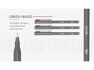 Caneta Ginza Nano Brush - New Pen ( Avulsa)