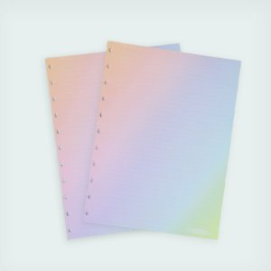 Refil Rainbow ( Médio) - Caderno Inteligente