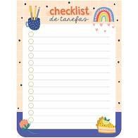 Bloquinho Checklist - Cartões Gigantes