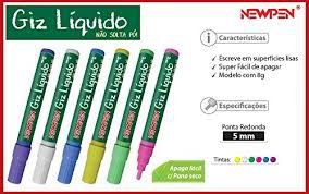 Giz Líquido - New Pen