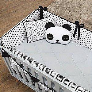 Kit Berço Panda (Bat) - 10 peças