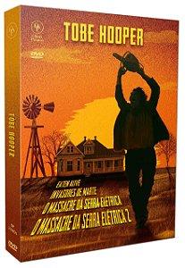 TOBE HOOPER - DIGISTAK COM 3 DVD'S