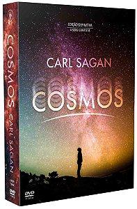 COSMOS - CARL SAGAN: A SÉRIE COMPLETA – EDIÇÃO DEFINITIVA! (7 DVD'S)