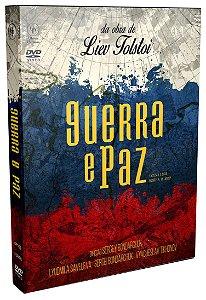 GUERRA E PAZ – DIGISTACK COM 3 DVD'S