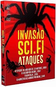 INVASÃO SCI-FI: ATAQUES (2 DISCOS)