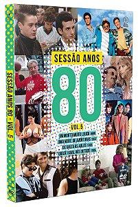 SESSÃO ANOS 80 - VOLUME 05 - DIGIPAK COM 2 DVD'S