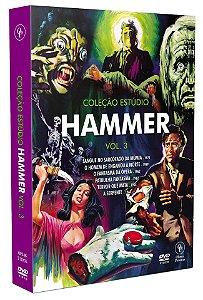 COLEÇÃO ESTÚDIO HAMMER VOL.3 (DIGISTAK COM 3 DVD'S)
