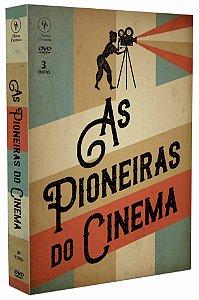 AS PIONEIRAS DO CINEMA -  3 DISCOS