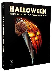 HALLOWEEN: A NOITE DO TERROR - HALLOWEEN 2: O PESADELO CONTINUA [DIGIPAK COM 2 BLU-RAYS E 1 DVD]
