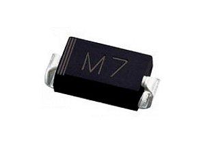 Diodo 1N4007 SMD M7