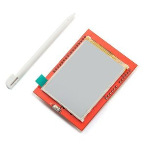 "Display LCD TFT 2.4"" Touchscreen Shield"