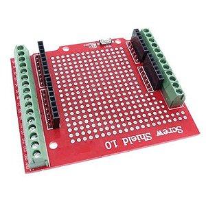 Shield de Expansão Bornes Screw para Arduino Uno