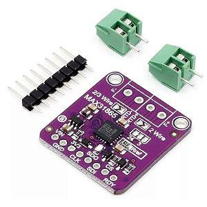 Módulo MAX31865 para Sensor Temperatura PT100 RTD