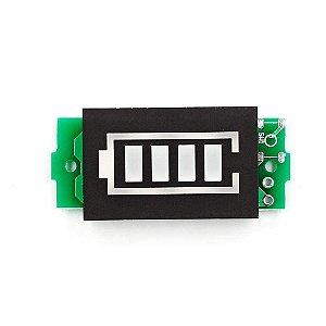 Módulo Indicador de Nível de Bateria 3.7V a 4.2V