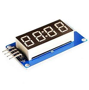Módulo Display Sete Segmentos 4 Dígitos TM1637