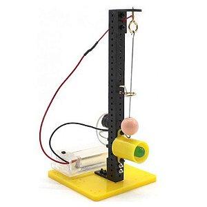 Kit Experimentos DIY Sistema Alarme de Terremoto