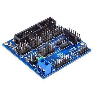Sensor Shield Arduino Uno Mega 5.0