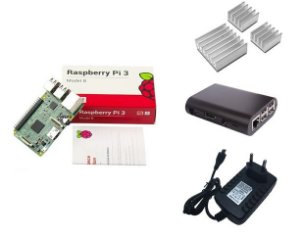 Kit Raspberry Pi 3 Modelo B