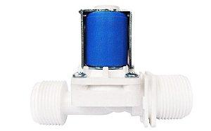 Válvula Solenóide para Água 12V 180º ( ¾ x ¾)