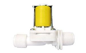 Válvula Solenóide para Água 110V 180º ( ½ x ½)