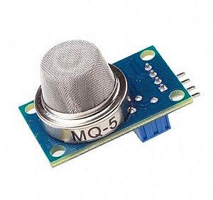 Módulo Sensor Gás de Cozinha e Gás Natural MQ-5