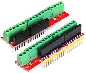 Placa de Expansão Borne para Arduino Uno