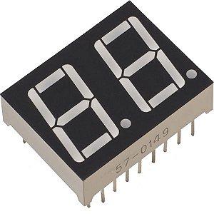 Display Led 7 Segmentos 2 Dígitos