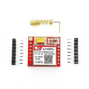 Módulo GPRS GSM SIM800L com Antena