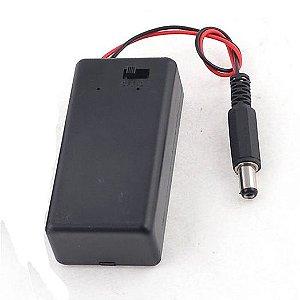 Case Bateria 9V com Plug P4