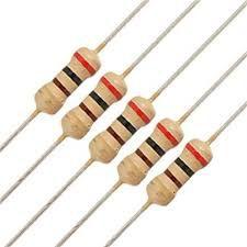 Resistor 1k 1W 5% - Acompanha 10pcs