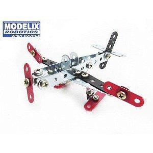 Avião Bimodelo Modelix