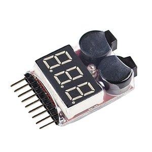 Módulo Monitor de Tensão para Bateria 1S-8S