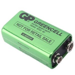 Bateria 9V GP Greencell