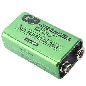 Bateria 9V GP Greencell
