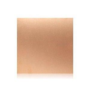 Placa Fibra de Vidro Cobreada Face Dupla 15x15 cm