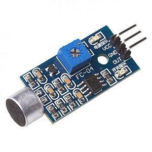 Módulo Sensor de Detecção de Som