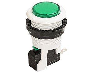 Botão Arcade Fliperama 34mm Verde
