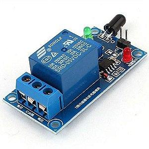 Módulo Sensor de Fogo com Relé 5VDC