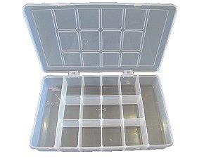 Organizador Plástico M 23x14x4cm 14 Divisórias