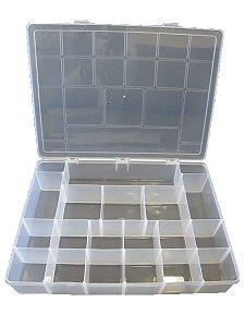Organizador Plástico GG 37x27x6cm 20 Divisórias