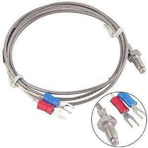 Sensor de Temperatura Termopar Tipo K 0 - 400ºC