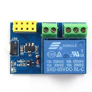 Módulo Relé 1 Canal com Adaptador ESP8266