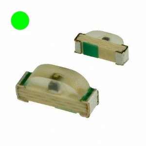 Led Verde Amarelo Smd 0805 - Kit com 10 unidades