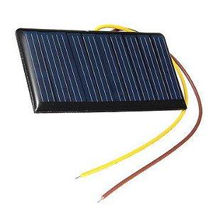 Mini Placa Painel Solar Fotovoltaico 5V 60mA
