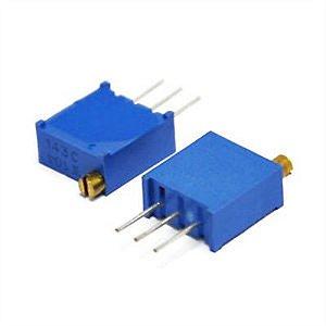 Trimpot 25 Voltas Multivoltas 3296X 10k