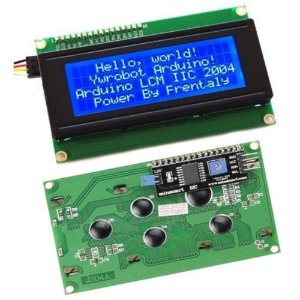 Display Lcd 20x4 com Adaptador I2C Backlight Azul