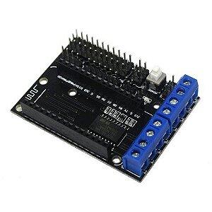 Shield Driver L293D para NodeMCU
