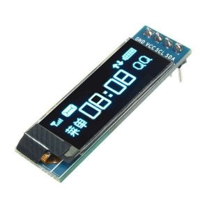 "Display Oled 0.91"" 128x32 I2C Azul"